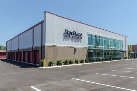 Exterior view parking At StorPlace of Barfield In Murfreesboro TN