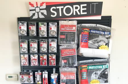 Storage Supplies at StorQuest Self Storage in Ripon, CA