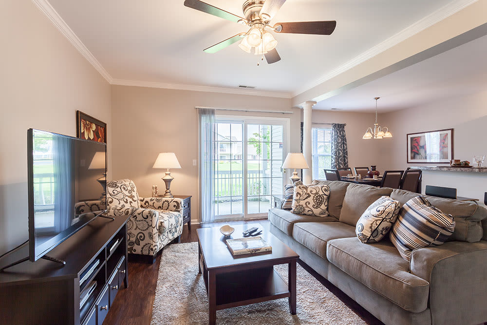 Luxury floor plans for your comfort at Oakmonte Apartments in Webster, NY