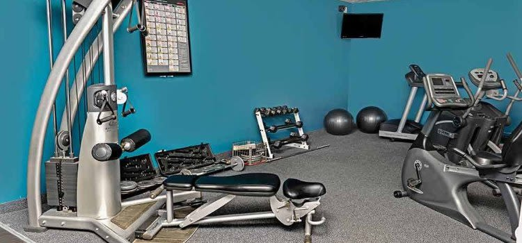 Webster Manor Apartments fitness center in Webster, NY