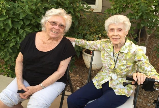 Residents at The Vistas Assisted Living and Memory Care
