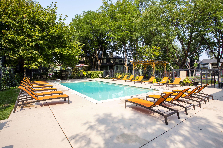 Pool at Royal Farms Apartments