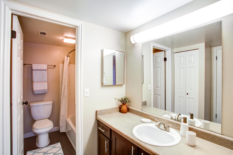 Bathroom at Royal Farms Apartments