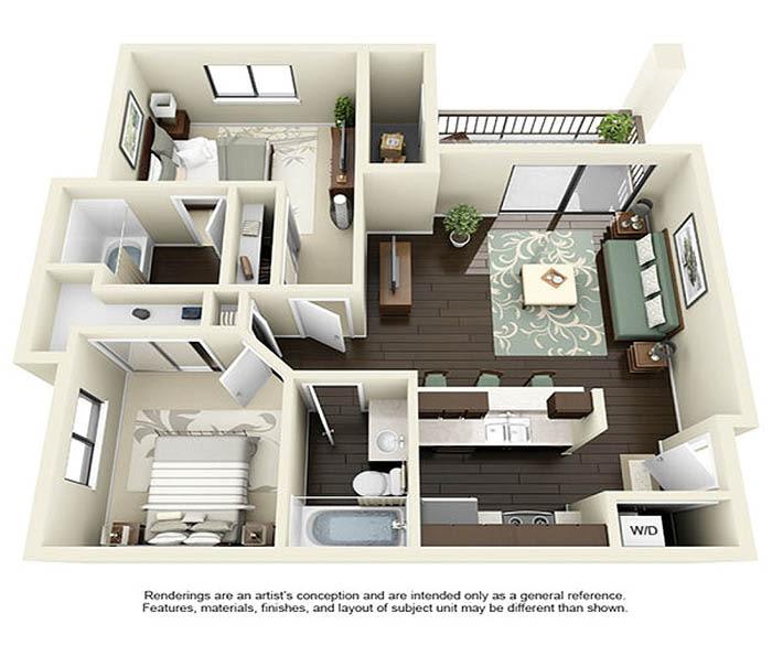 Luxury Studio, 1 & 2 Bedroom Apartments in Walnut Creek, CA