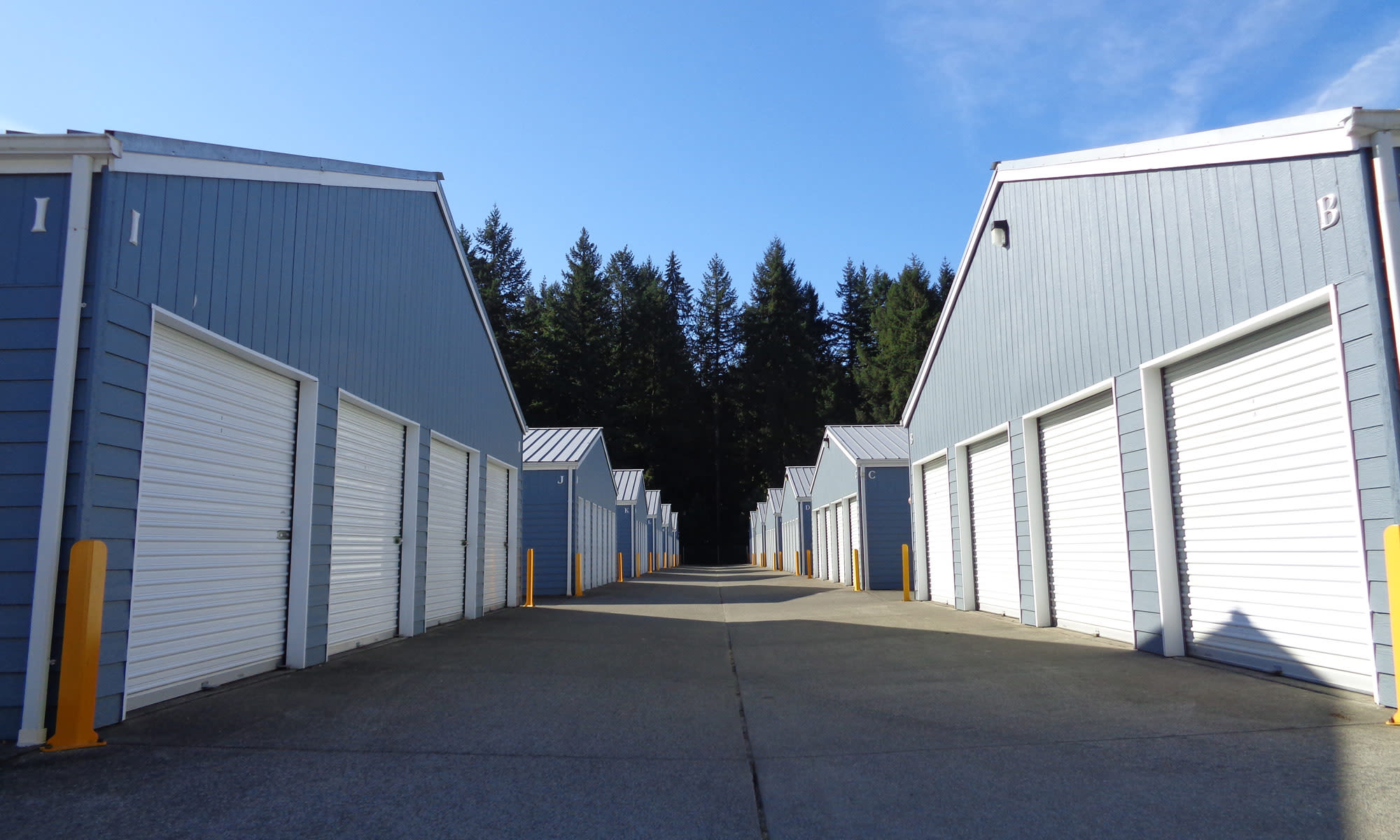 Self storage in Olympia WA