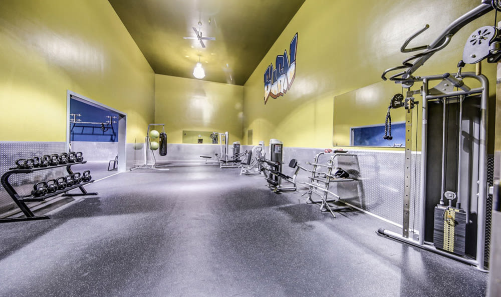 Fitness Center at Chatham Hills Apartments
