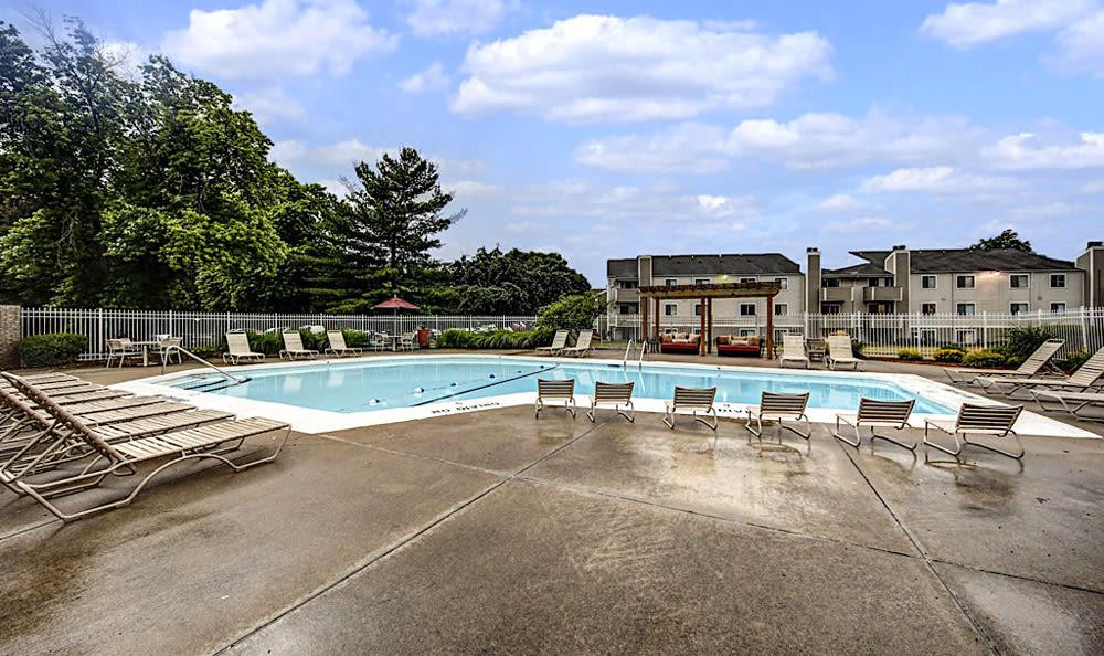 Pool at Chatham Hills Apartments