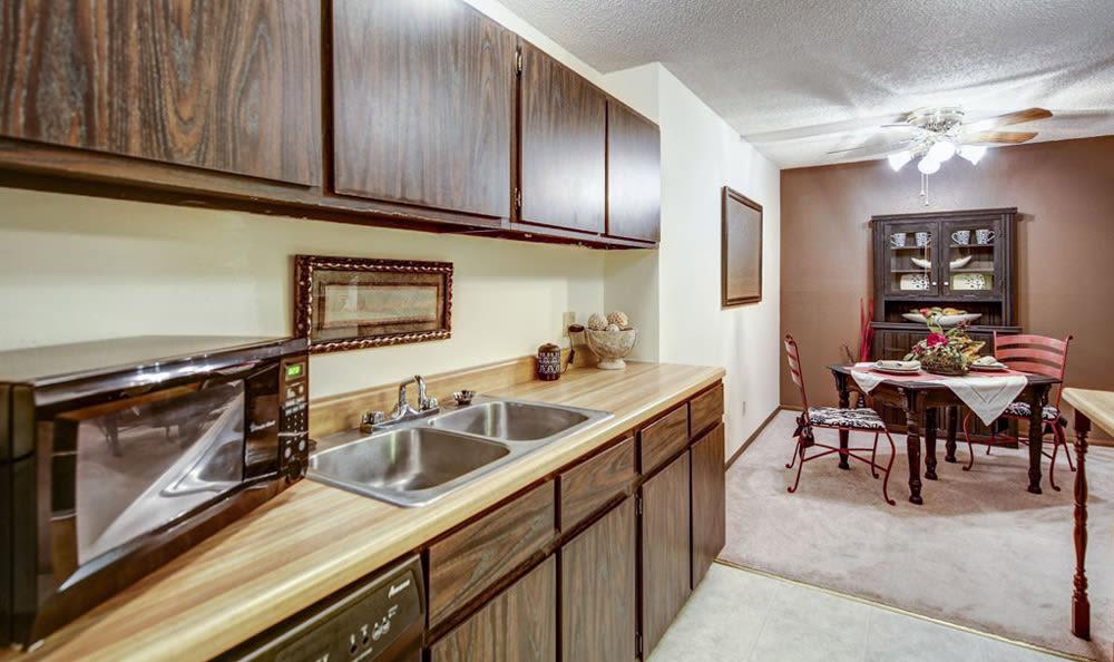 Kitchen at Chatham Hills Apartments