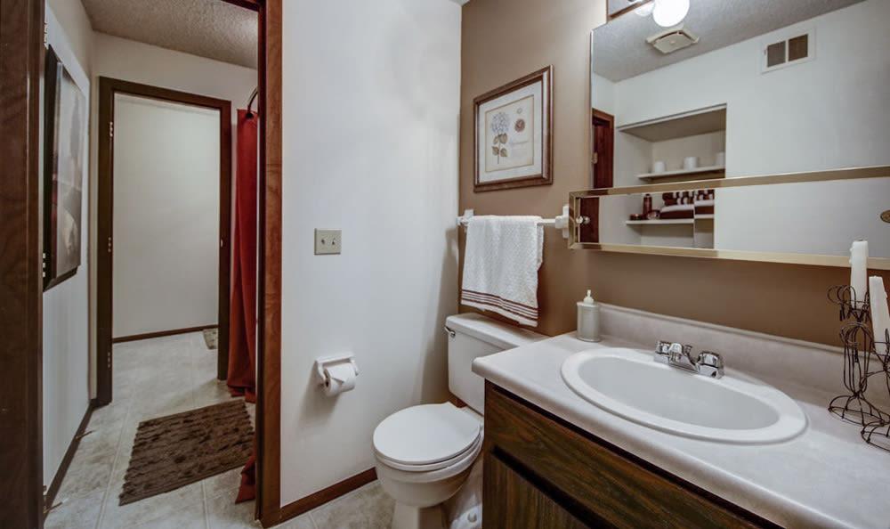 Bathroom at Chatham Hills Apartments