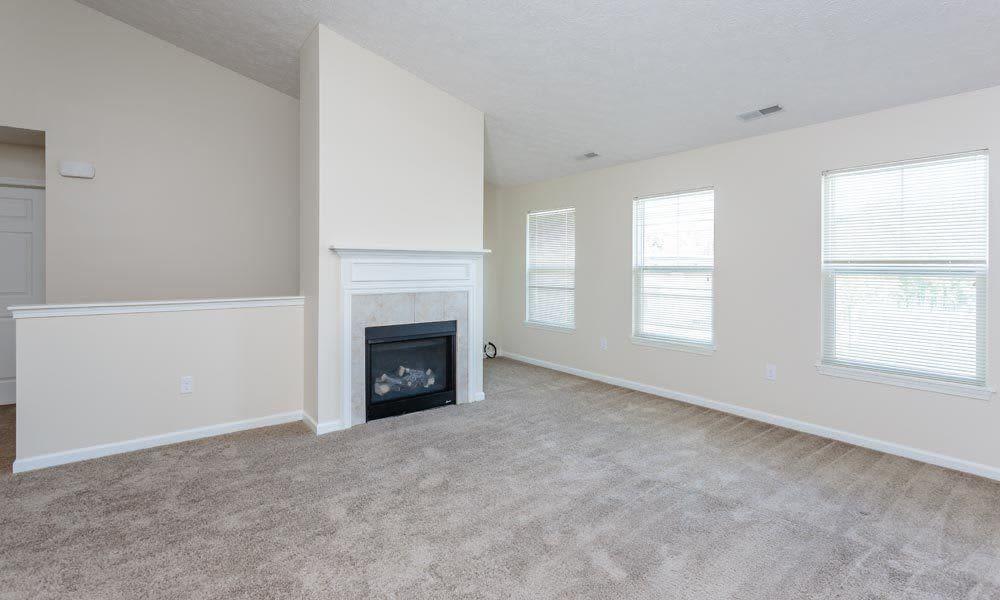 Open floor plan at Auburn Creek Apartments home