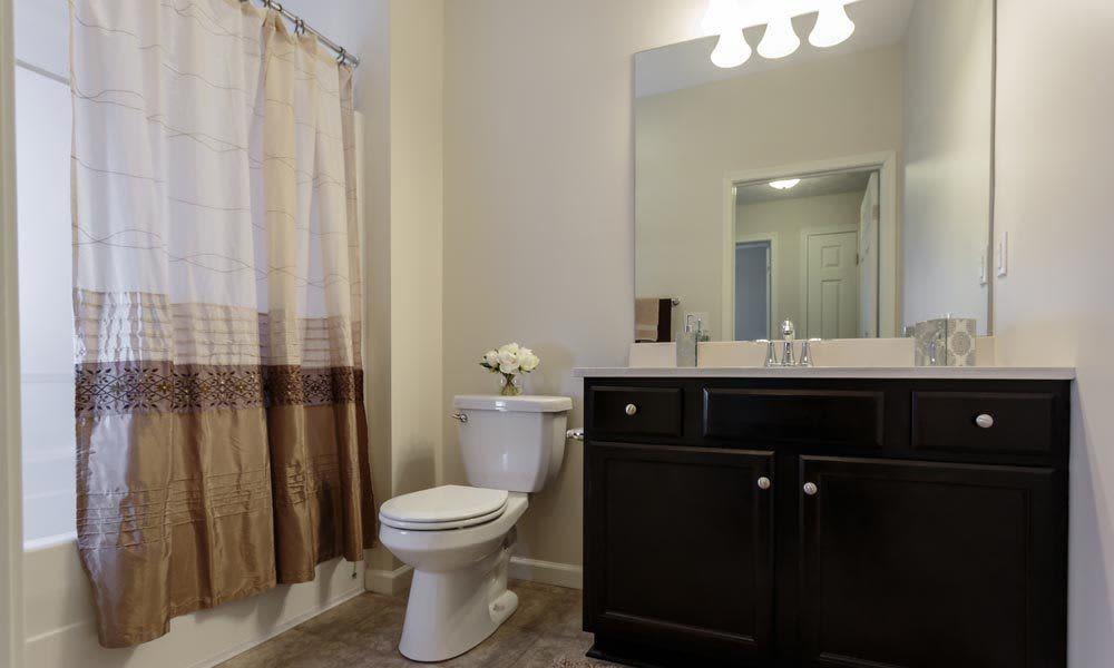 Bathroom at Auburn Creek Apartments home