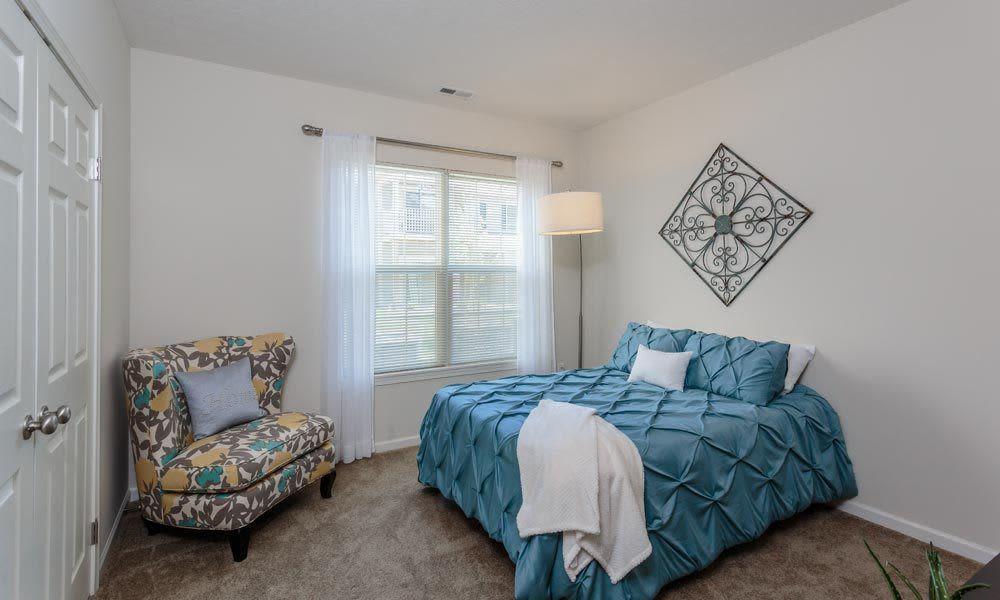 Bedroom at Auburn Creek Apartments home