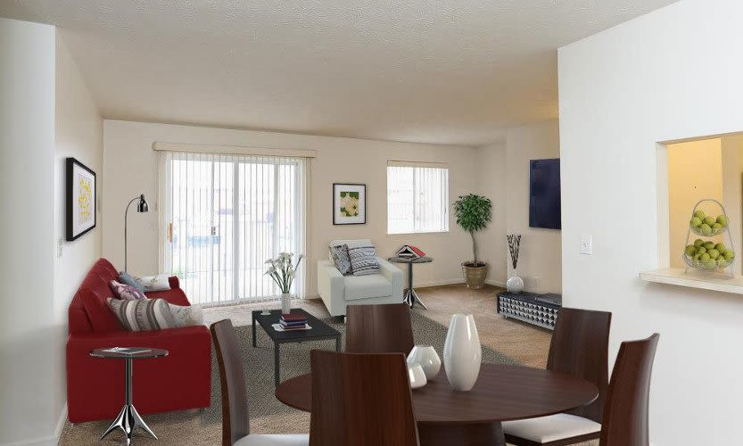 Modern floor plans at CenterPointe Apartments and Townhomes in Canandaigua, New York