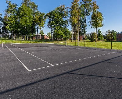 CenterPointe Apartments and Townhomes tennis court in Canandaigua, New York