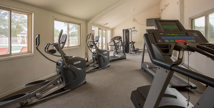 Emerald Springs Apartments fitness center in Painted Post, NY