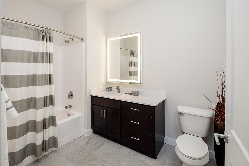 Our apartments in Canandaigua, NY offer a bathroom