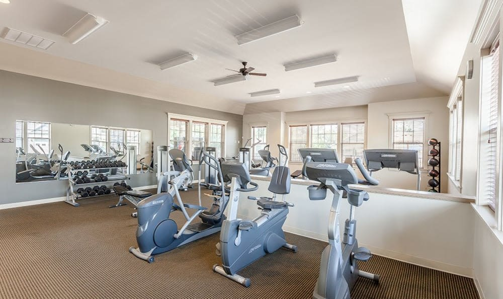 Saratoga Crossing fitness center in Farmington
