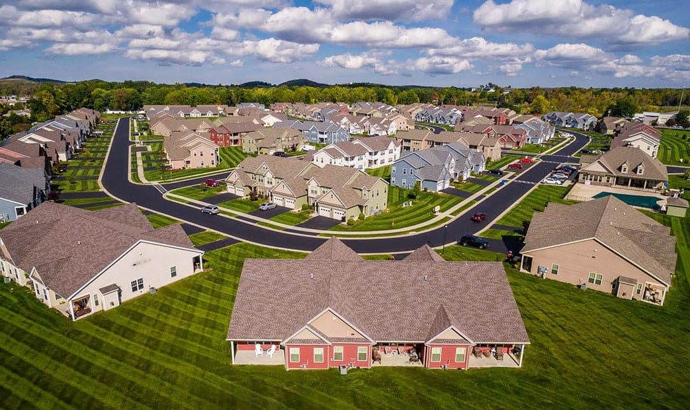 Saratoga Crossing community view