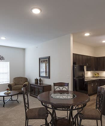 Gorgeous floor plans at Oxford Villa Active Senior Apartments