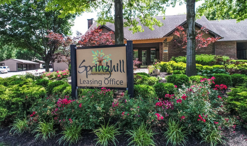 Front office at Springhill Apartments