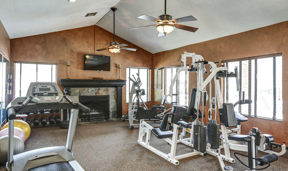 Fitness Center at Springhill Apartments