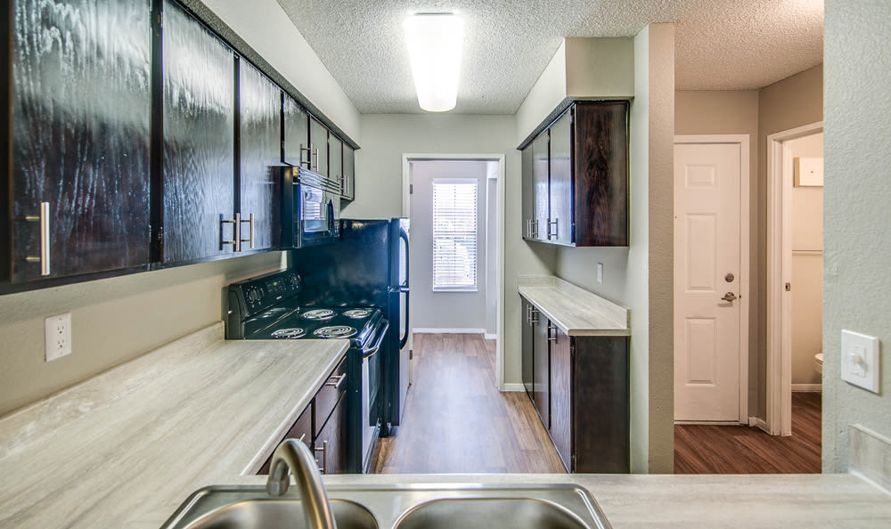 Kitchen at Springhill Apartments