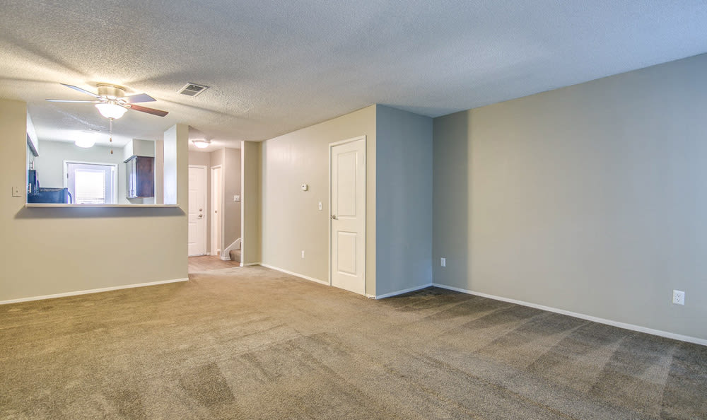 Living room at Springhill Apartments
