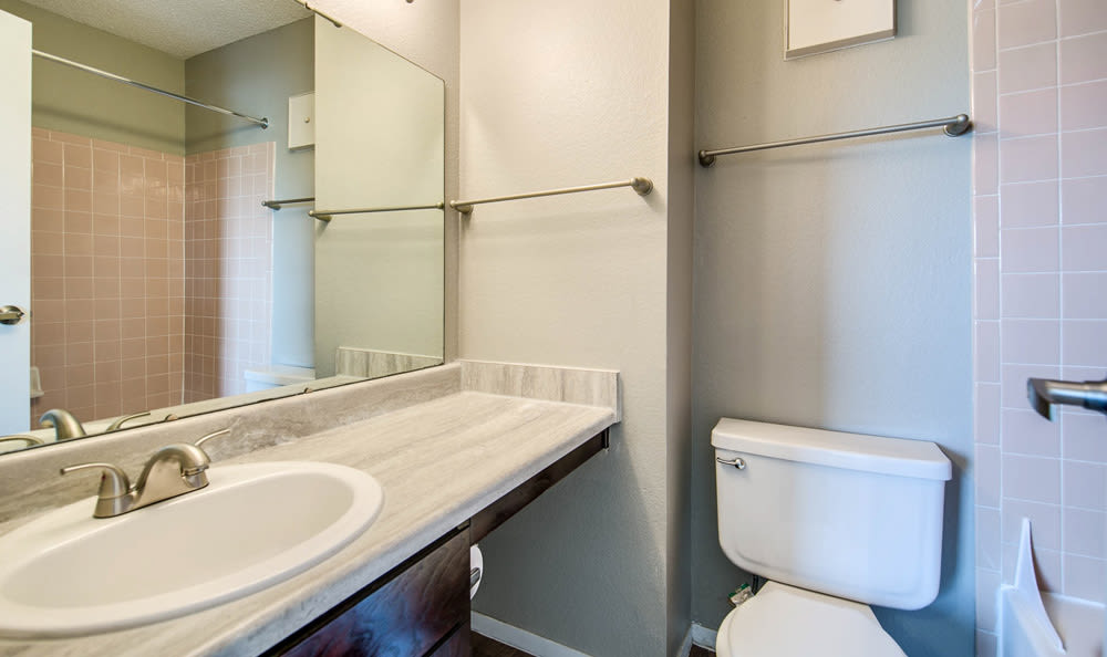 Bathroom at Springhill Apartments