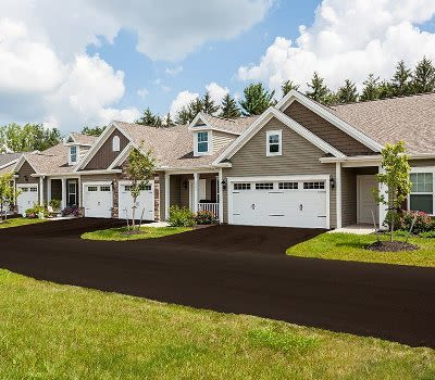 Luxury townhomes at The Links at CenterPointe Townhomes in Canandaigua