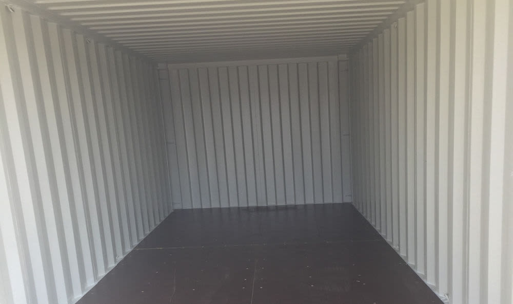 Inside a storage container at Storage Etc... Sylmar