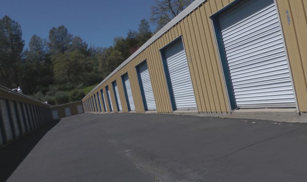 Storage units in our facility in Sonora