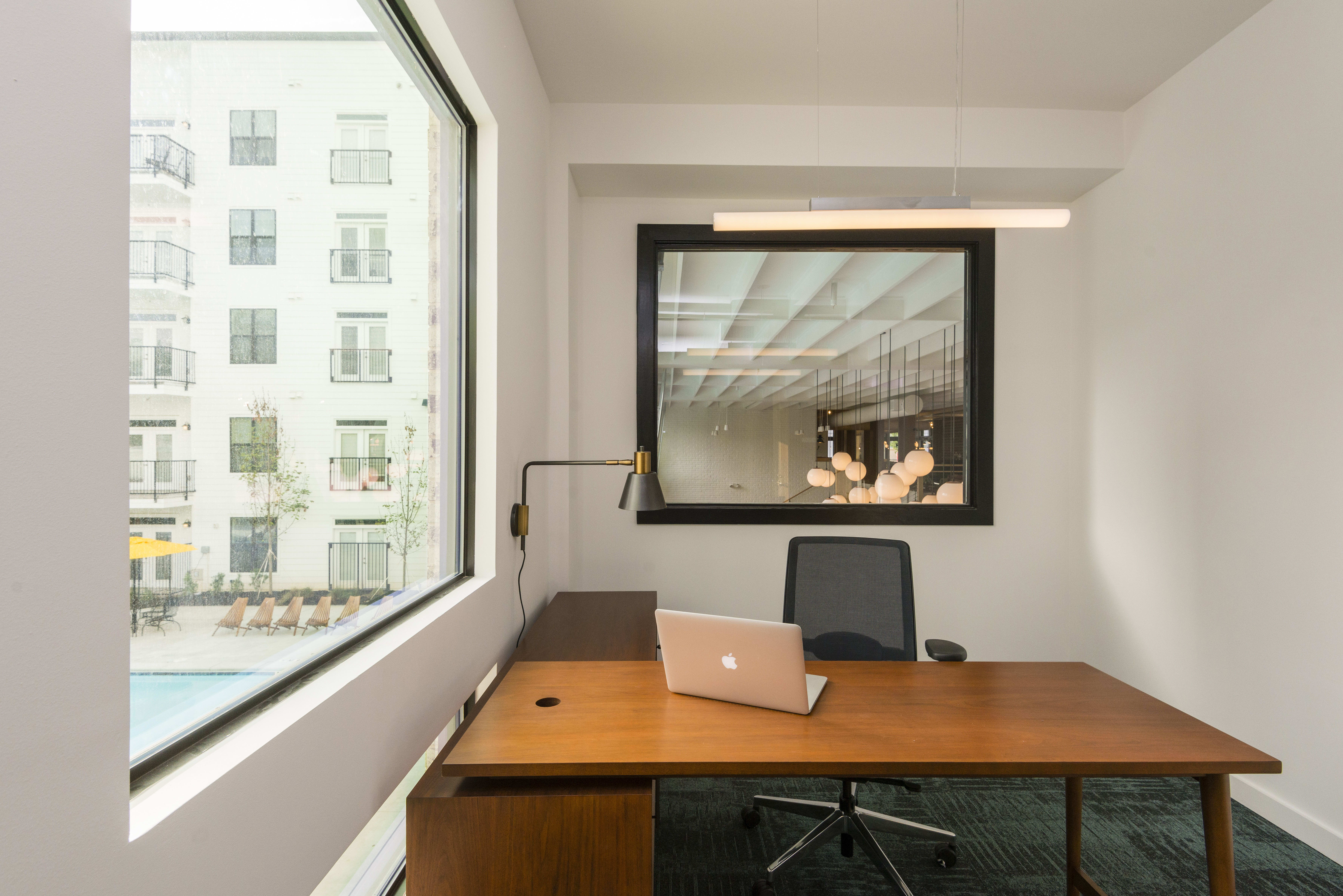 Private rentable offices at Olmsted Chamblee