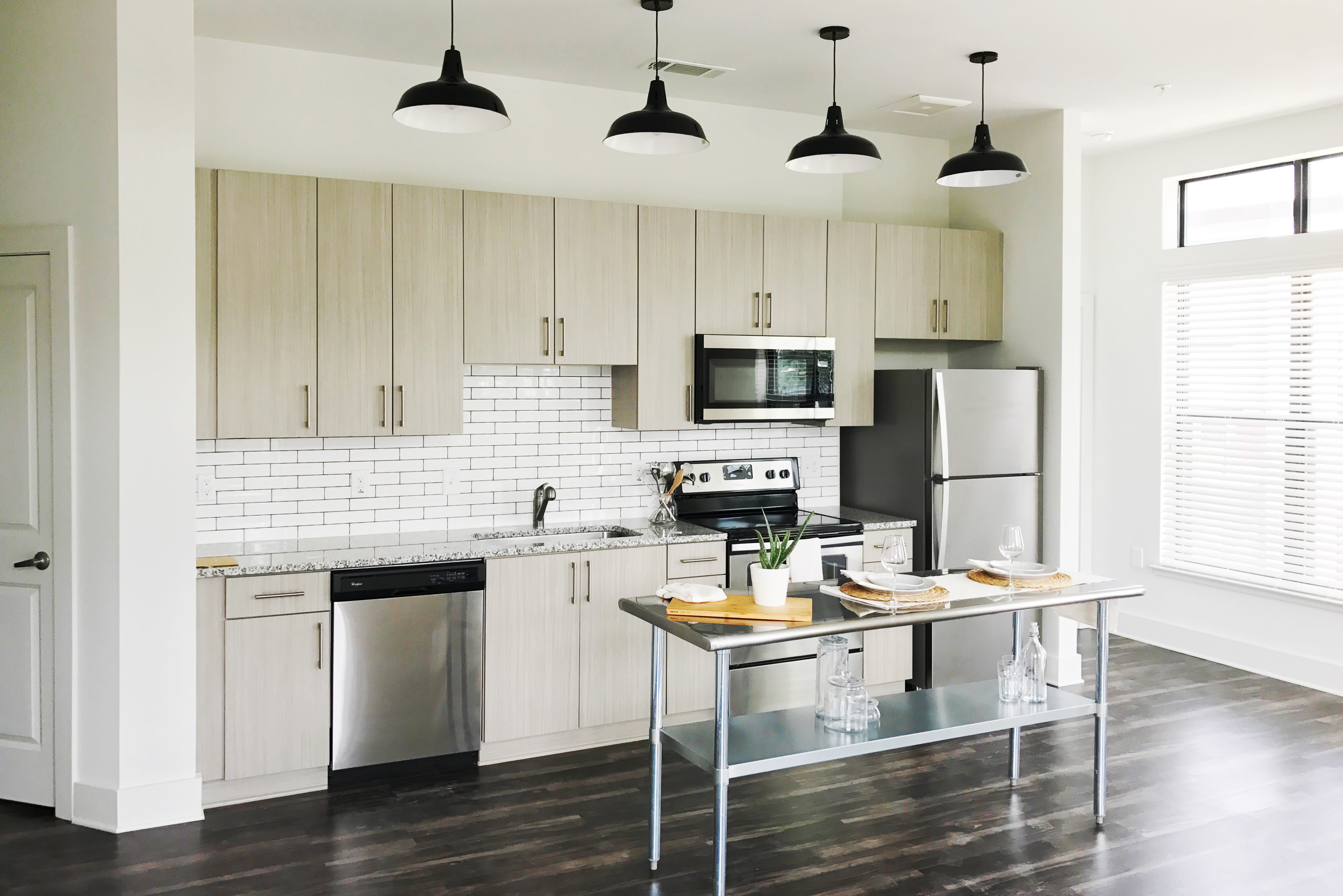 Spacious kitchen at Olmsted Chamblee