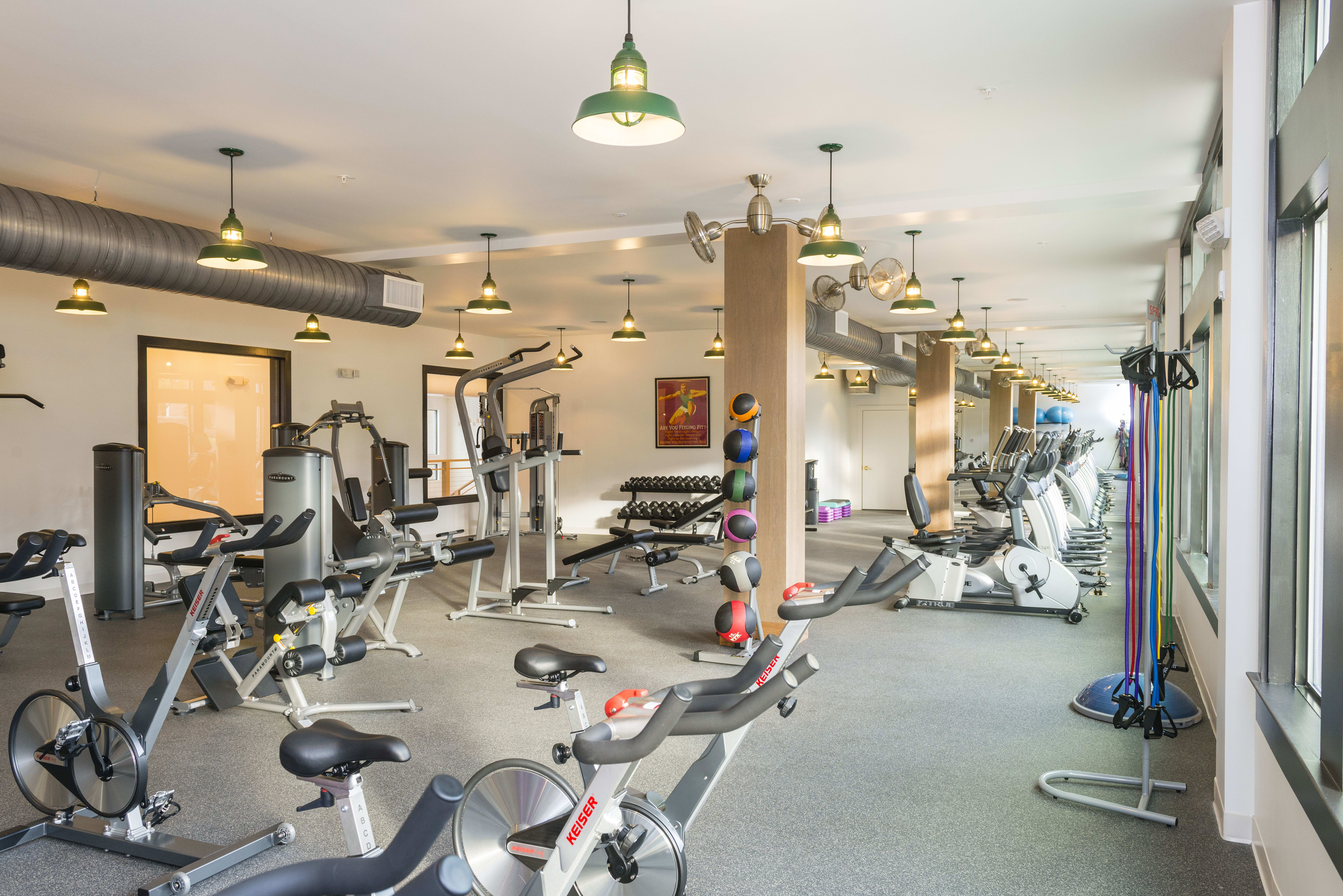 Fitness center at Olmsted Chamblee