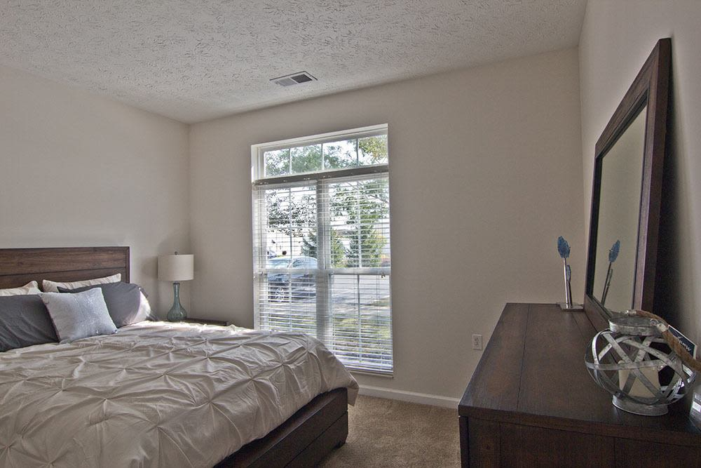 Spacious bedroom at Preston Gardens in Perrysburg, OH