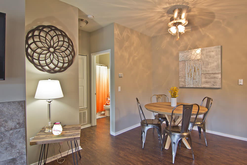 Beautiful dinning room at apartments in Perrysburg, Ohio