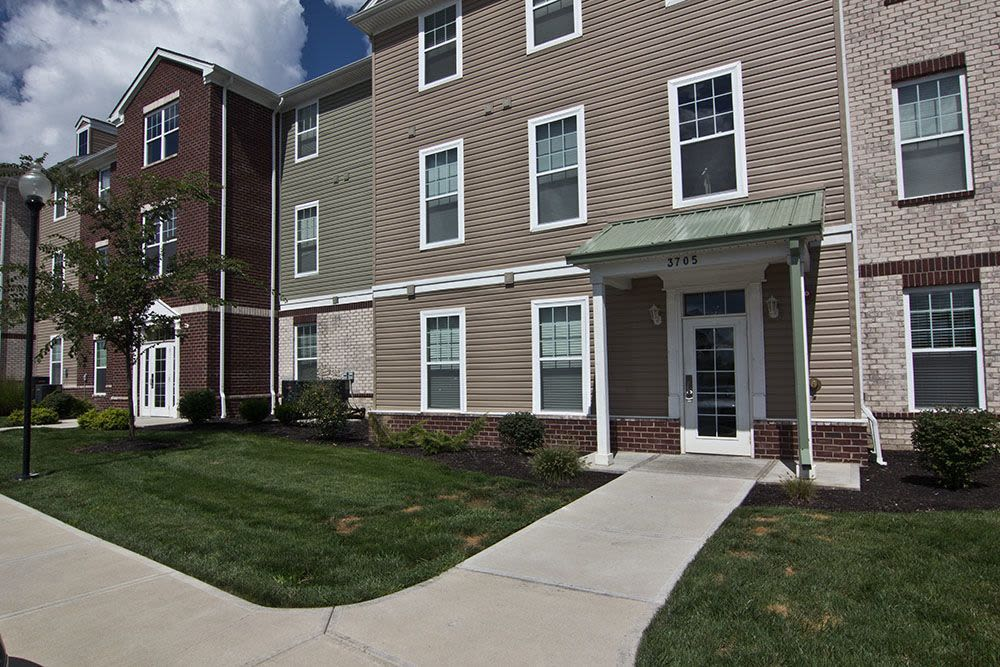 Exterio view at apartments in Elsmere, Kentucky
