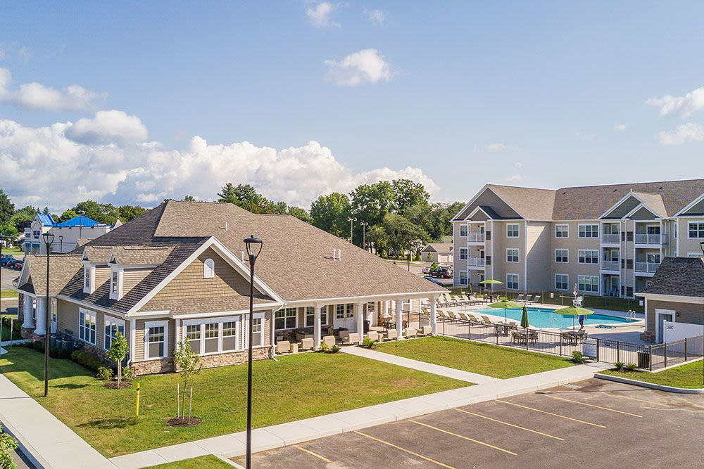 Beautiful Exterior view at The Landings at Meadowood in Baldwinsville, New York