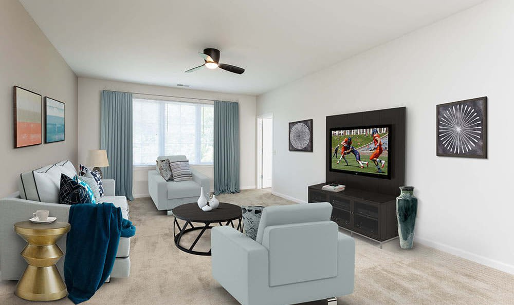 Luxury floor plans at Green Lake Apartments in Orchard Park, NY