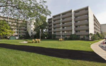 Nearby Community Park Towers Apartments
