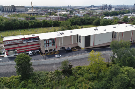 Aerial Sign of StorQuest Self Storage in Jersey City