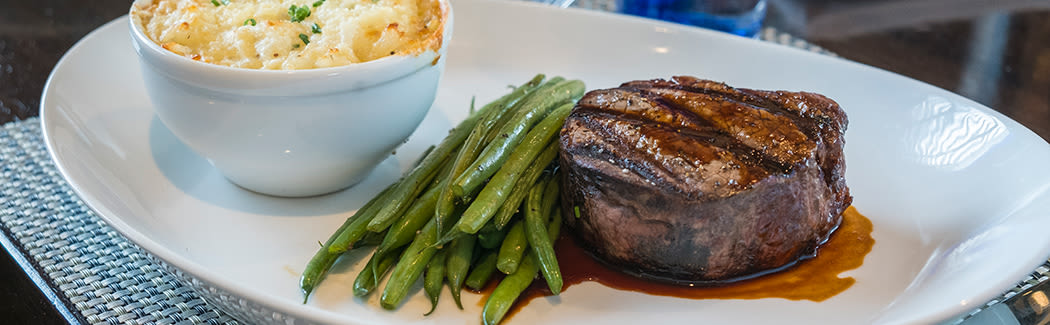 Get your steak however you like it at The Fairways of Ironhorse in Leawood