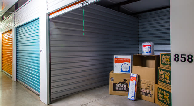 Climate controlled units at Metro Self Storage in Amarillo, TX