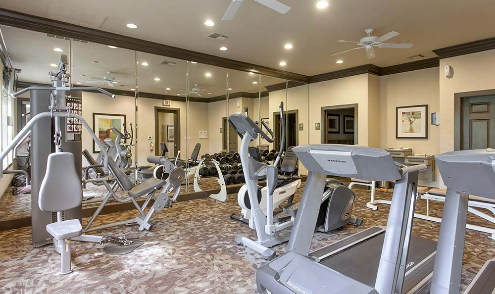 The Quarry Townhomes fitness center