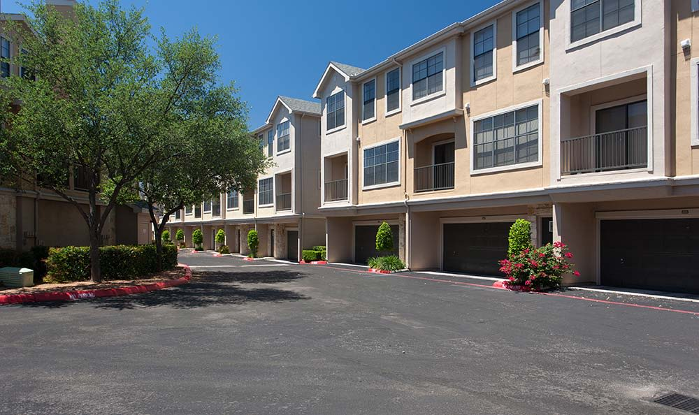 The Quarry Townhomes exterior