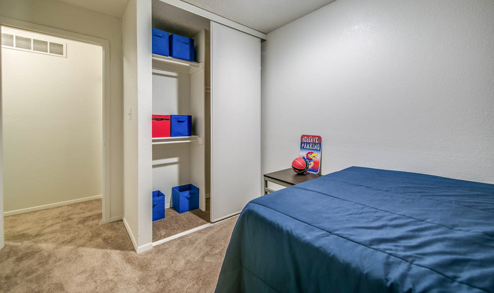 bedroom at Orchard Corners Apartments