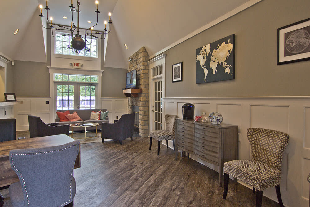 Leasing office at our apartments in Westerville