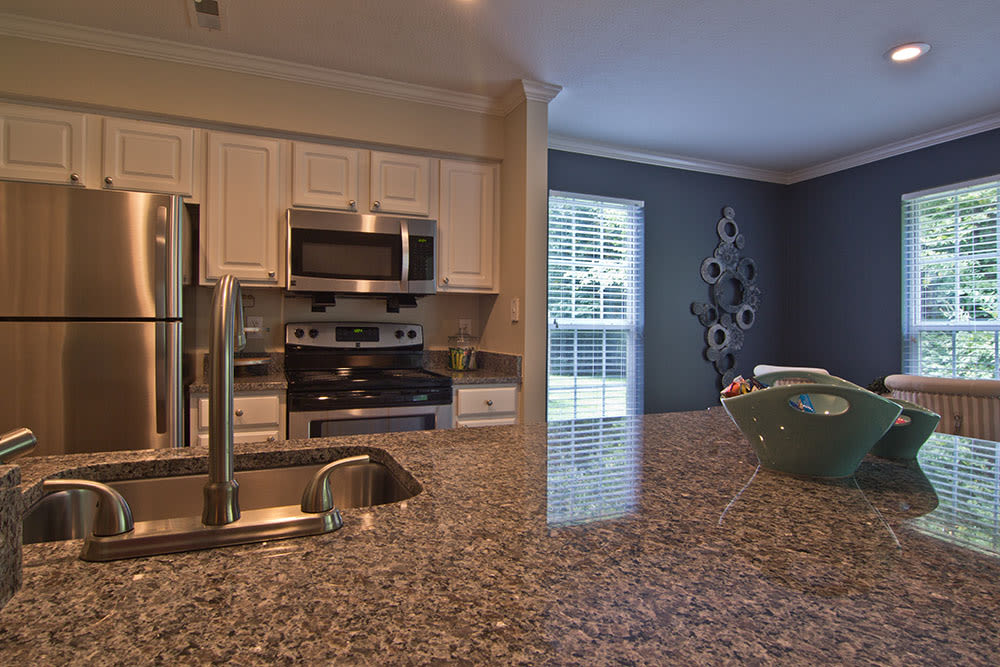 Spacious kitchen in our Westerville, OH apartments