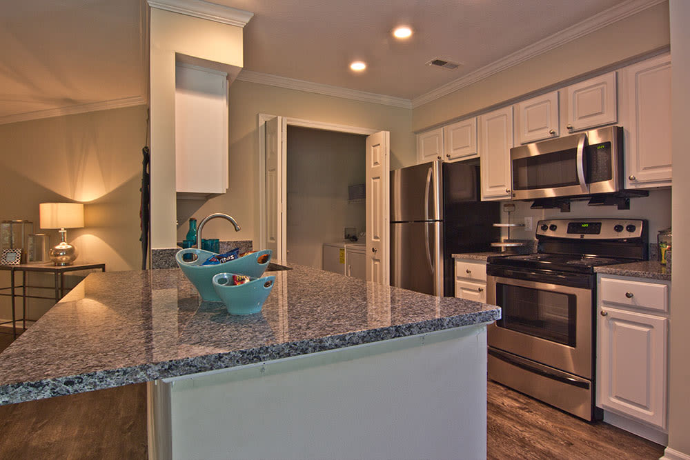Nice clean kitchen in our Westerville, OH apartments