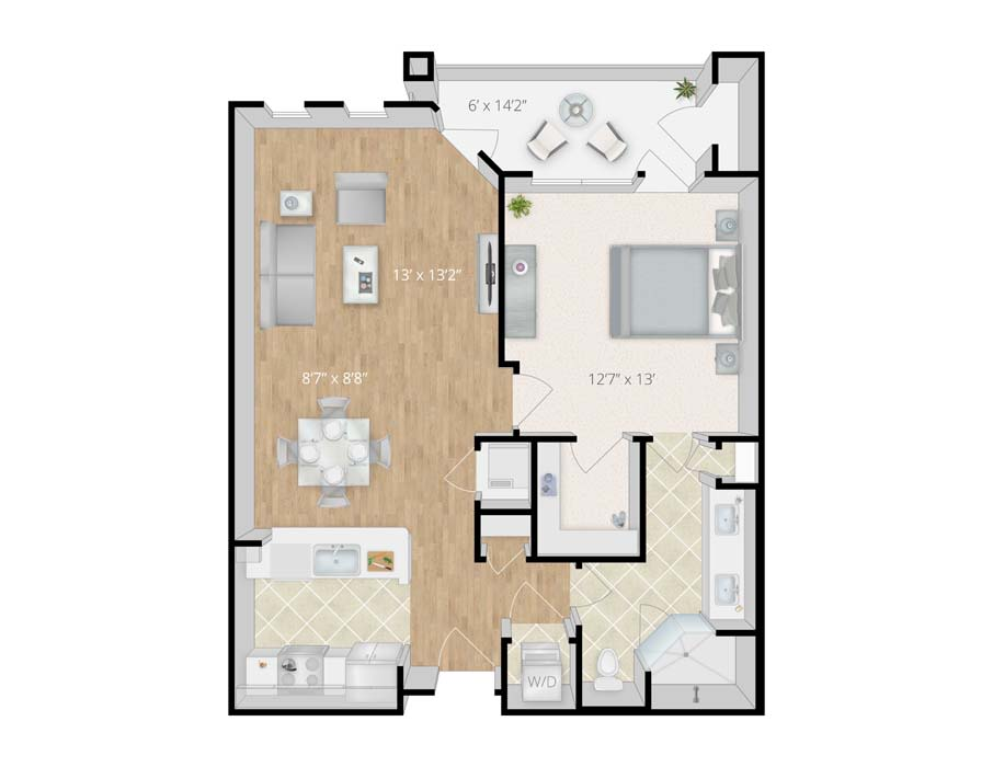 Newly Renovated 1, 2 & 3 Bedroom Apartments in Viera, FL (Melbourne)